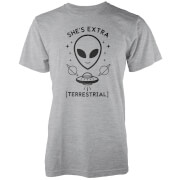 Camiseta She's Extra Terrestrial - Hombre - Gris