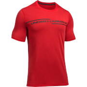 Under Armour Men's Threadborne Cross Chest T-Shirt - Red