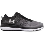 Under Armour Men's Threadborne Fortis Running Shoes - Black/Grey