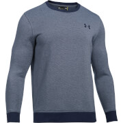 Under Armour Men's Fitted Crew Jumper - Navy