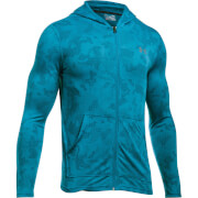 Under Armour Men's Threadborne Fitted FZ Hoody - Blue