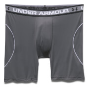 Under Armour Men's Iso-Chill Mesh 6 Inch Boxerjock - Dark Grey