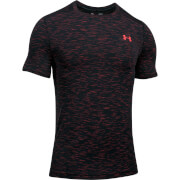 Under Armour Men's Threadborne Seamless T-Shirt - Black/Red