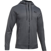 Under Armour Men's Full Zip Hoody - Dark Grey