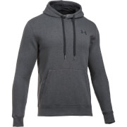 Under Armour Men's Rival Fitted Hoody - Dark Grey