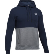 Under Armour Men's Threadborne 1/2 Zip Hoody - Navy