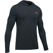 Under Armour Men's Threadborne Seamless Hoody - Black/Red