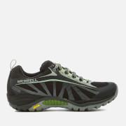 Merrell Women's Siren Edge Waterproof Hiking Shoes - Black/Paradise