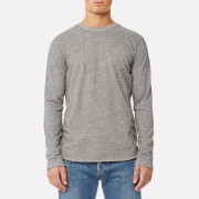 Edwin Men's Terry Long Sleeve T-Shirt - Dark Grey Heather