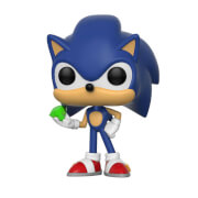 Sonic the Hedgehog - Sonic con Smeraldo Figura Pop! Vinyl