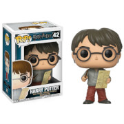 Harry Potter Harry with Marauders Map Funko Pop! Vinyl