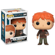 Figura Pop! Vinyl Ron Weasley con Scabbers - Harry Potter