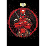 Marvel Comics Metal Poster - Deadpool Merc with a Mouth Evening Plans (68 x 48cm)