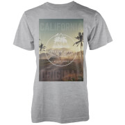Camiseta Native Shore California Original Palm - Hombre - Gris claro