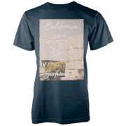 Camiseta Native Shore Venice Beach - Hombre - Azul marino