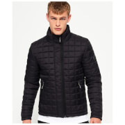Superdry Men's Box Quilt Fuji Jacket - Black