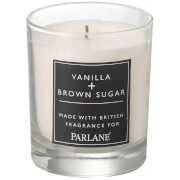 Parlane Vanilla & Brown Sugar Glass Votive Candle (8 x 7cm)