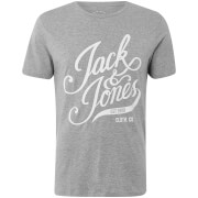 Jack & Jones Originals Men's Blog T-Shirt - Light Grey Marl