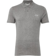 Jack & Jones Originals Men's Jet Jersey Polo Shirt - Light Grey Marl