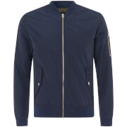Jack & Jones Men's Core Grand Bomber Jacket - Sky Captain