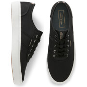 Jack & Jones Men's Austin Canvas Trainers - Anthracite