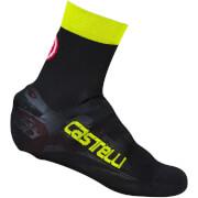 Castelli Belgian Bootie 5 Overshoes - Black/Yellow Fluo