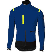 Castelli Alpha Ros Jacket - Ceramic Blue/Black