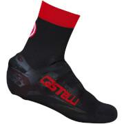 Castelli Belgian Bootie 5 Overshoes - Black/Red