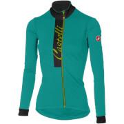 Castelli Women's Sorriso Long Sleeve Jersey - Turquoise/Light Black
