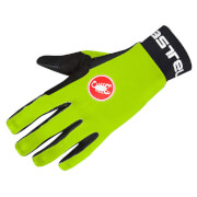 Castelli Scalda Gloves - Yellow Fluo/Black