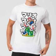 Nintendo Super Mario Pirahna Plant Japanese Men's T-Shirt - White