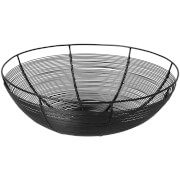Broste Copenhagen Nina Bread Basket - Iron Black