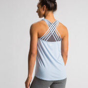 Crossback Tank Top - Light Blue