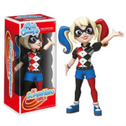 Figura Rock Candy Vinyl Harley Quinn - DC Super Hero Girls