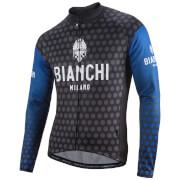 Bianchi Petroso Long Sleeve Jersey - Black/Blue