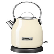 KitchenAid 5KEK1222BAC 1.25L Traditional Dome Kettle - Almond Cream