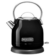 KitchenAid 5KEK1222BOB 1.25L Traditional Dome Kettle - Onyx Black
