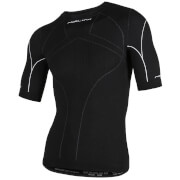 Nalini Saturno Short Sleeve Base Layer - Black