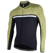 Nalini Dubhe Long Sleeve Thermo Knit Jersey - Black/Green