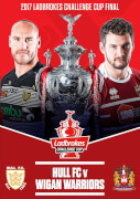 2017 Ladbrokes Challenge Cup Final - Hull FC v Wigan Warriors