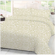 Dreamscene Mayfair Duvet Set - Cream