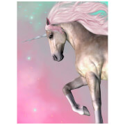 Dreamscene Unicorn Faux Fur Throw (150 x 200cm)