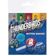 Thunderbirds Are Go International Rescue Badge Pack