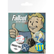 Fallout 4 Mix 1 Badge Pack