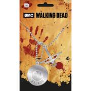 The Walking Dead Walker Hunter Dog Tag Pendant