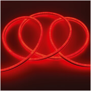 Global Gizmos LED Neon Flex Rope Light 5m - Red