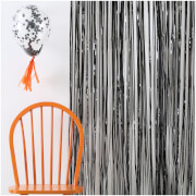Ginger Ray Black Fringe Curtain Decorations - Pumpkin Party