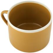 Nkuku Datia Mustard Short Mug - Mustard