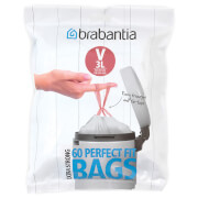 Brabantia PerfectFit Dispenser Pack V - 3 Litre (Pack of 60)