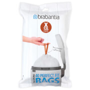 Brabantia PerfectFit Dispenser Pack X - 12 Litre (Pack of 40)